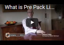 What is Pre Pack Liquidation?
